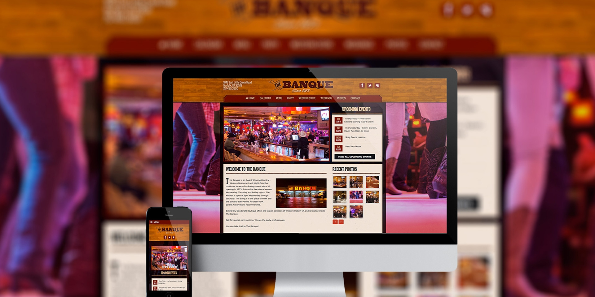 The Banque Responsive Website